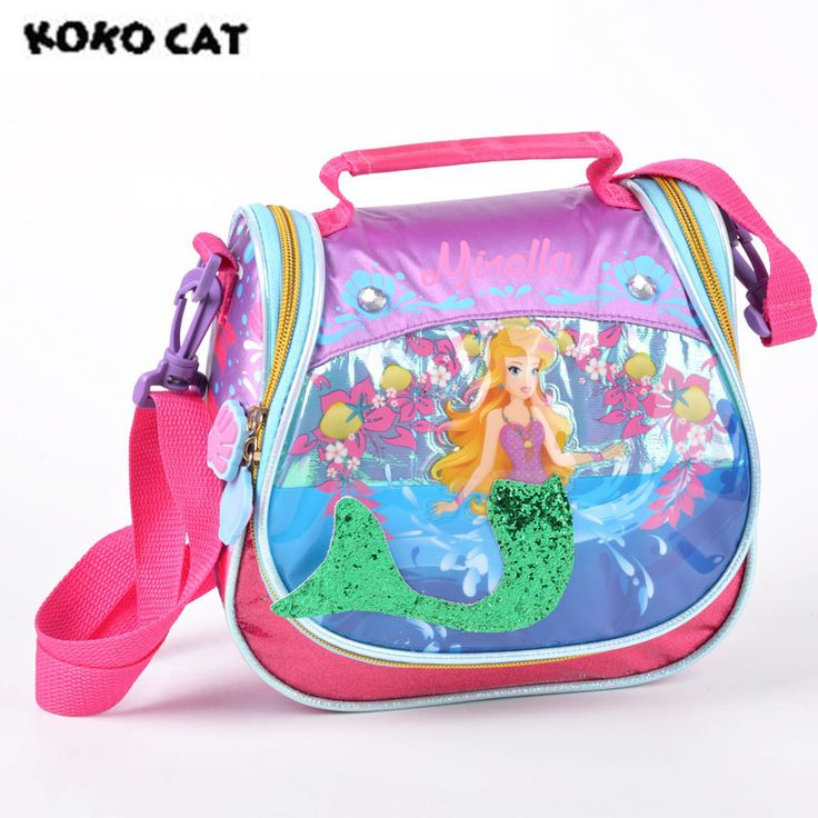 Cheap lunch cooler bag, Buy Quality picnic bag directly from China insulated lunch Suppliers: KOKOCAT Cute Mermaid Printing Insulated Lunch Cooler Bags For Girls Fashion Cartoon Kids Lunch Box Thermal Food Picnic Bags