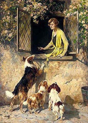 Arthur Wardle - A Friendly Welcome