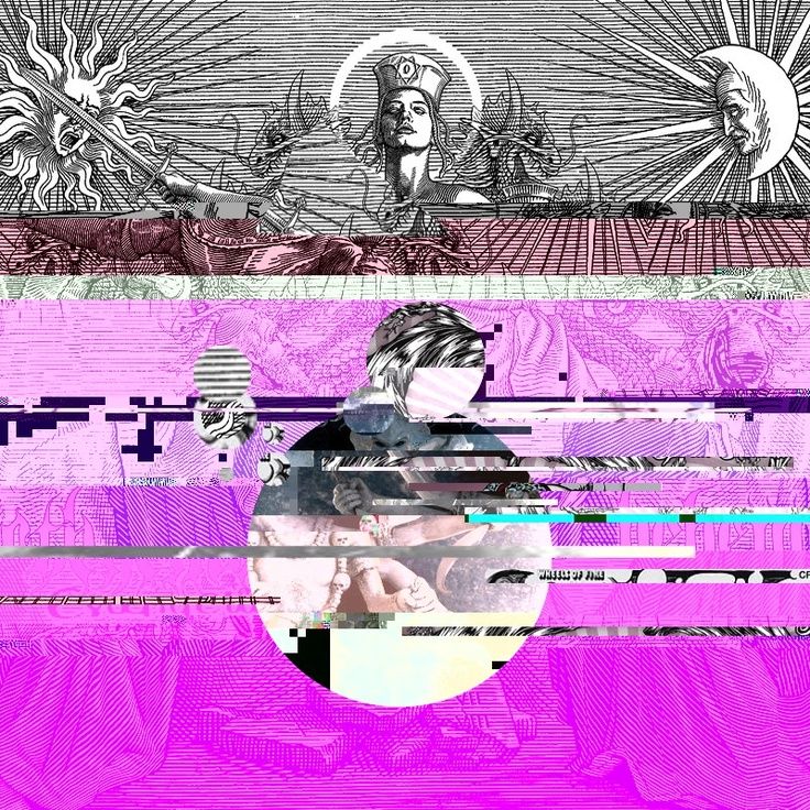 Took in different pics in the texteditor and got wild.