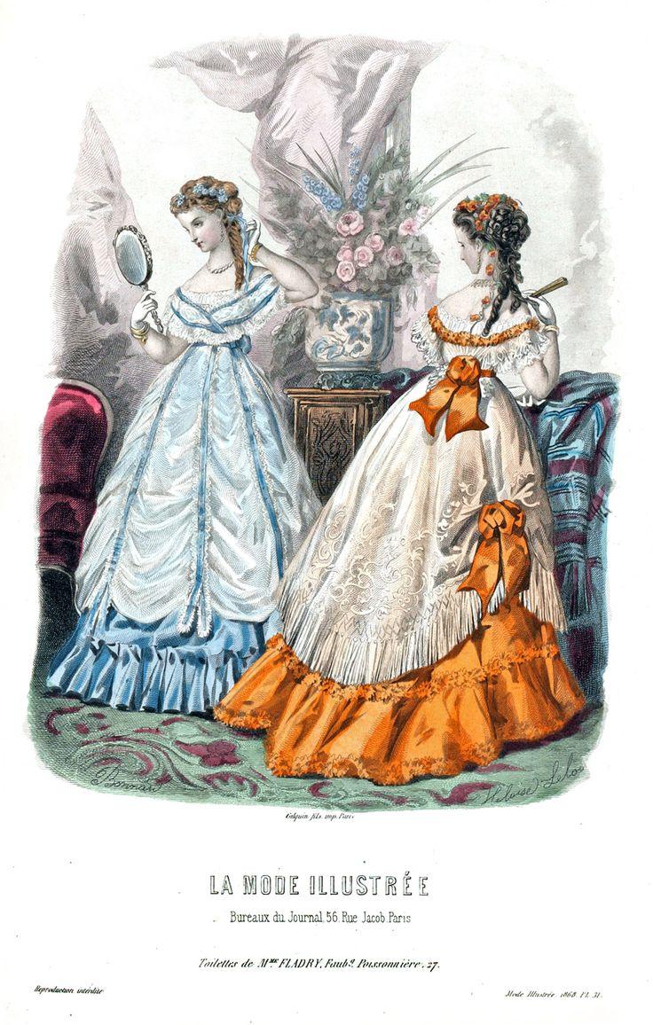 1868 La Mode Illustrée pl.31 sur 51