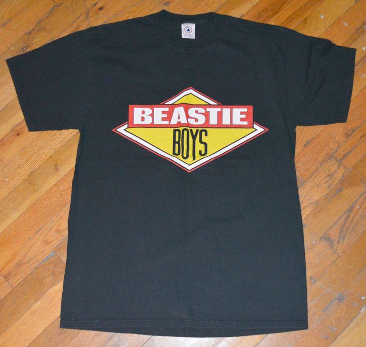 RaRe *1998 BEASTIE BOYS* vtg rap concert tour shirt (L) 80s 90s Hip-Hop Def Jam