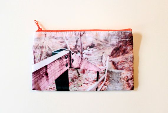 Pencil Case/Bag Irish Landscape Pink Purple by CandyMountainPhotos, €7.00