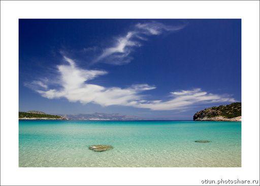 Crete 2004-2010. Voulisma beach (Путешествия) Греция