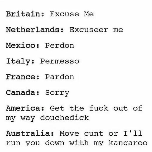 Really though. I'm American and I have such a potty mouth. Is this just a stereotype or do Americans swear more than other people?