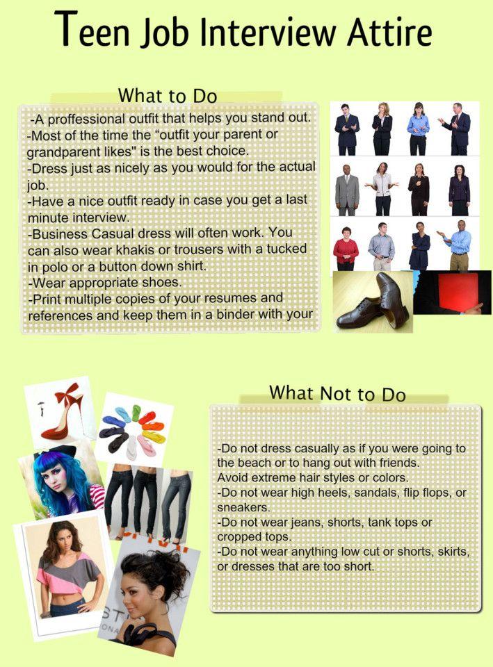18 best images about Winning Job Interview on Pinterest   Teen ...