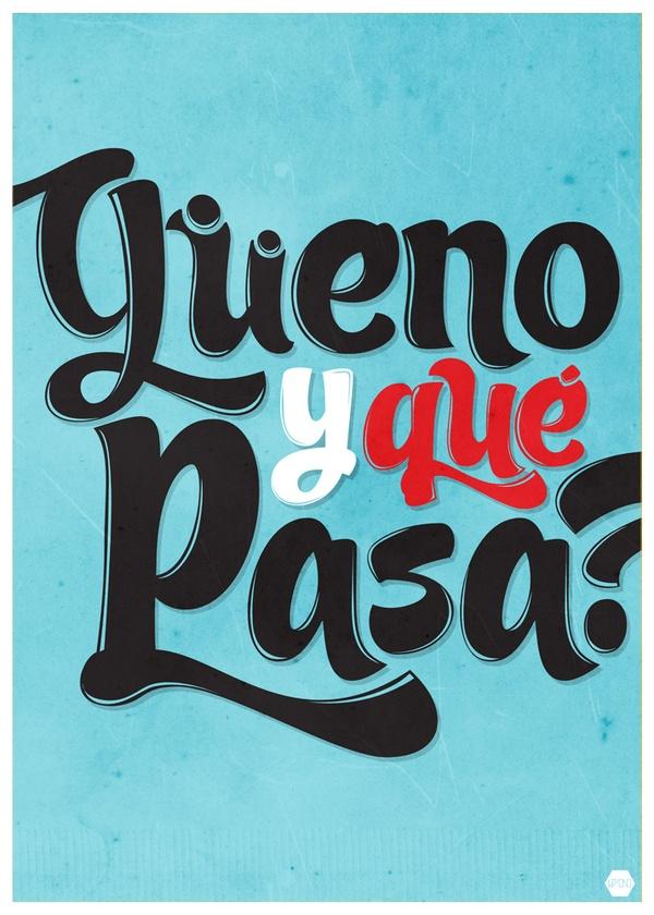 Afiches Flaites by Alvaro Padilla Villanueva, via Behance