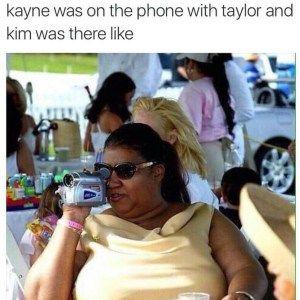 taylor swift memes, kim kardashian memes