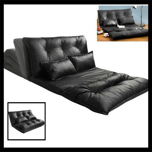 Student-Lounge-Chair-Sofa-Bed-Reclining-Sleeper-Dorm-Kids-Gaming-Floor-Couch-New