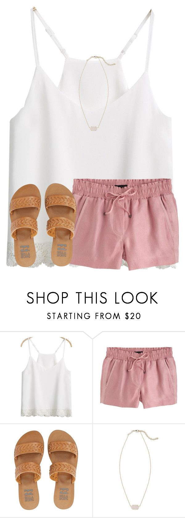 """road trip !"" by ponyboysgirlfriend ❤ liked on Polyvore featuring J.Crew, Billabong and Kendra Scott"