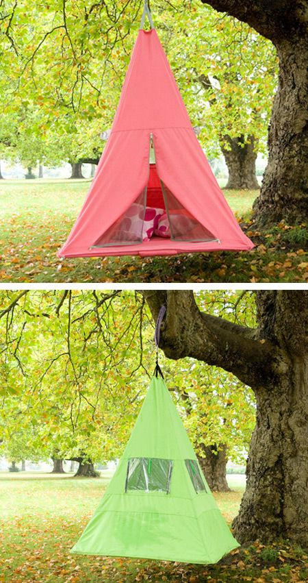 cool tents! I love camping: Yard Sleep, Cool Tent, Yard Tent, Treetent, Kid