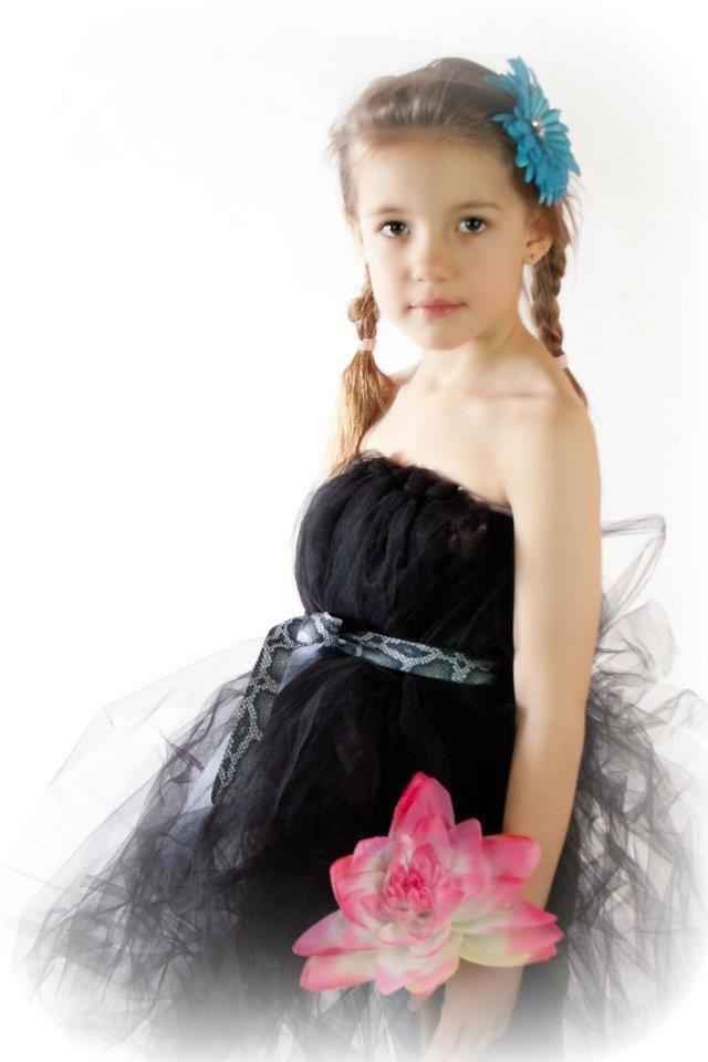 Great tulle dresses for flower girls!