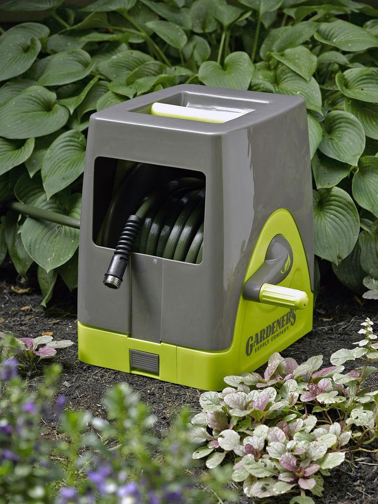1000+ ideas about Hose Reel on Pinterest | Garden Hose, Garden Tools