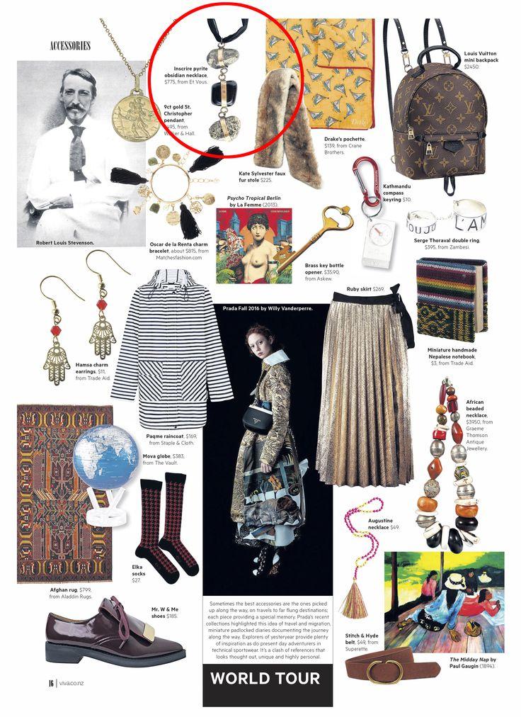 Viva Magazine Et Vous Inscrire Necklace