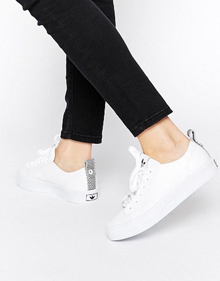 Adidas | adidas Originals Honey 2.0 White Trainers at ASOS