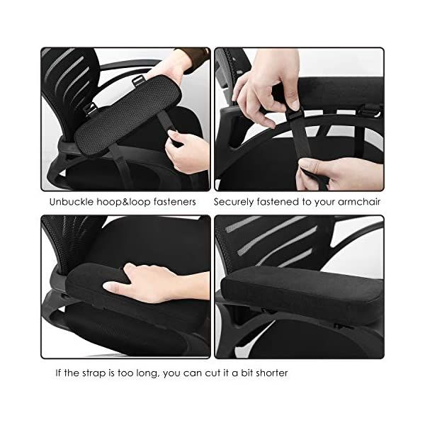 Office Chair Armrest Pads In 2020 Memory Foam Office Chair Ergonomic Chair