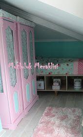 Intagram :mutlulukmeraklısı: Pembe Dolap Hikayesi.. ve catı katı pembe mavi tasarım. Blog icin ; http://mutlulukmeraklisi.blogspot.com.tr/2016/04/pembe-dolap-hikayesi.html?m=1 takip edin. Ahsap boyama ahşap boyama wood pink pembe vintage