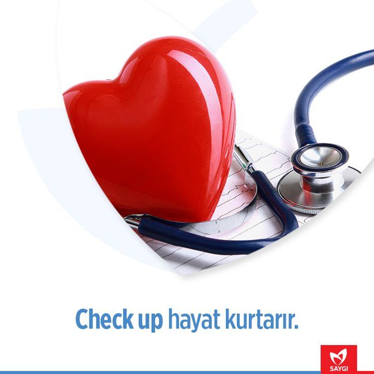 Düzenli sağlık kontrolü ömrünüze ömür katar. #saygihastanesi #saglikipuclari #checkup