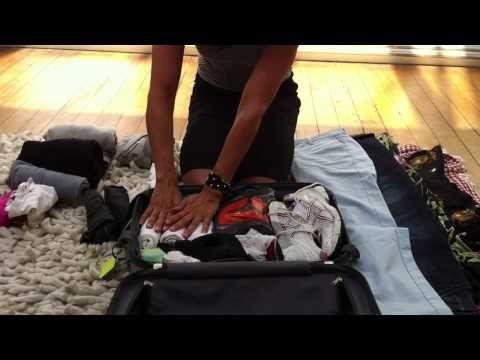 koffer inpakken: zó doe je dat  (packing )