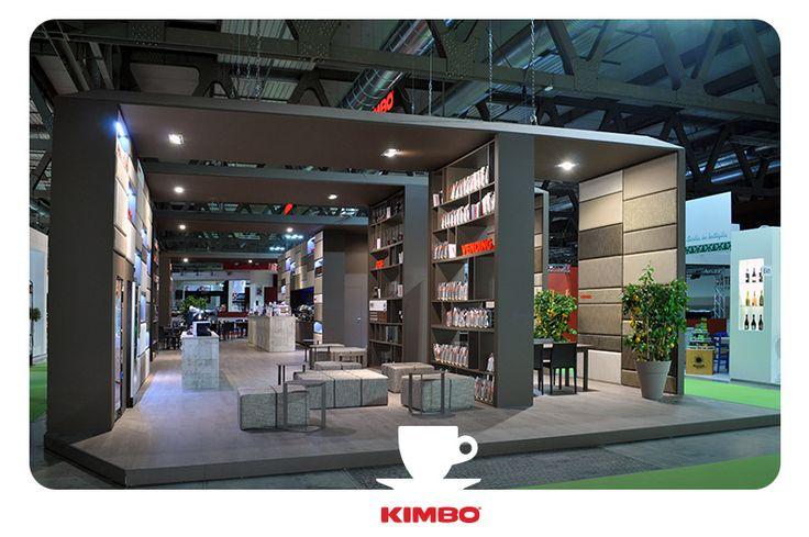 #TuttoFood2015: lo stand di #Kimbo completamente rinnovato con un nuovo concept espositvo.