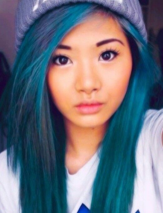 Blue Hair Hairstyles Pinterest Hair Teal Hair And Teal