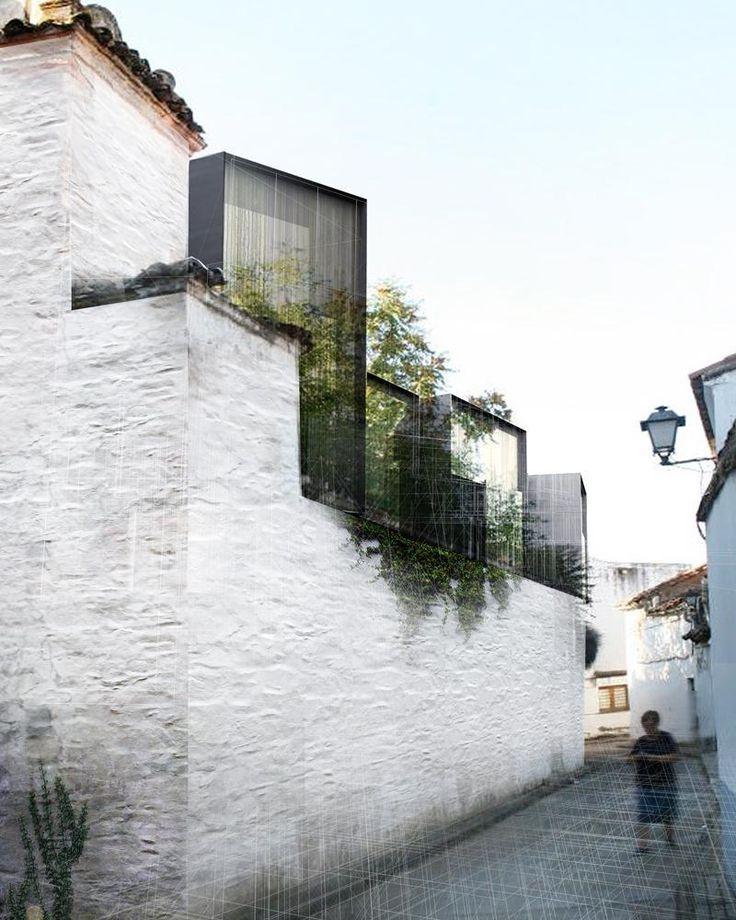 Amann-Cánovas-Maruri arquitectos: Hospedería Fregenal de la Sierra.