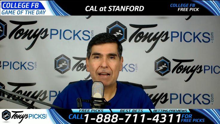California Golden Bears vs. Stanford Cardinal Free NCAA Football Picks a...
