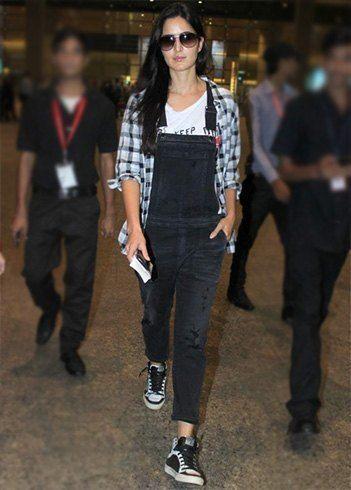 Katrina Kaif airport style | #Bollywood #Celebrities #Fashion