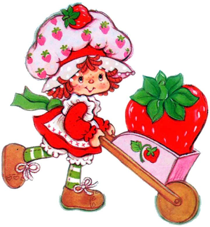 Strawberry Short Cake | Strawberry shortcake clip art