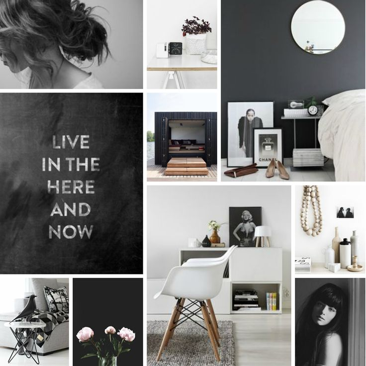 Genesin Studio Black And White Find More Ideas At Mood Board InteriorMood