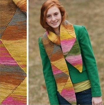 Knitting Pattern For Short Row Christmas Tree Skirt