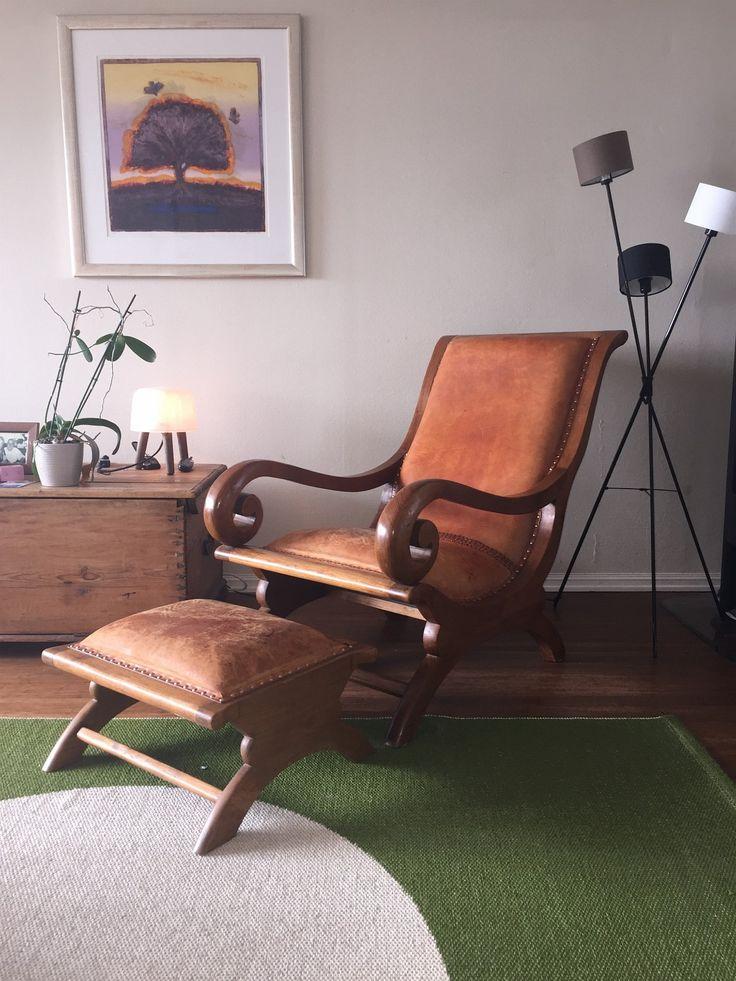 FINN – Lenestol og fotskrammel