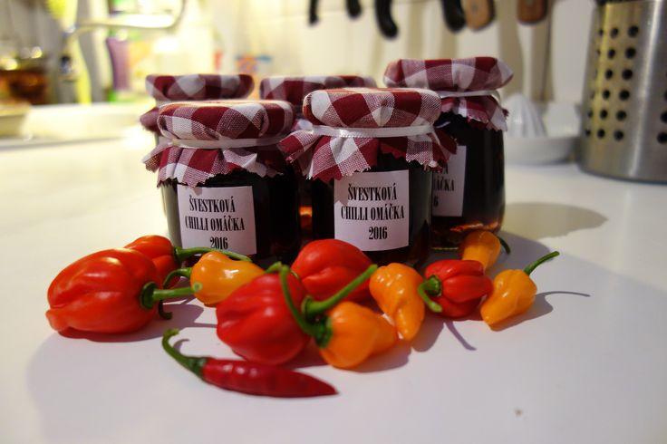 Švestková-chilli omáčka