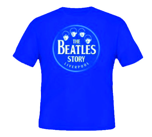 CAMISETA BEATLES STORY TALLA L
