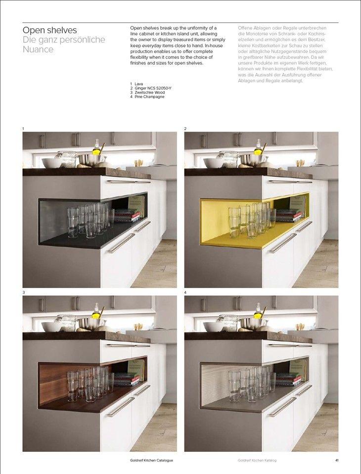 Epic Kitchen catalogue K chen katalog Goldreif Kitchen Catalogue Gold