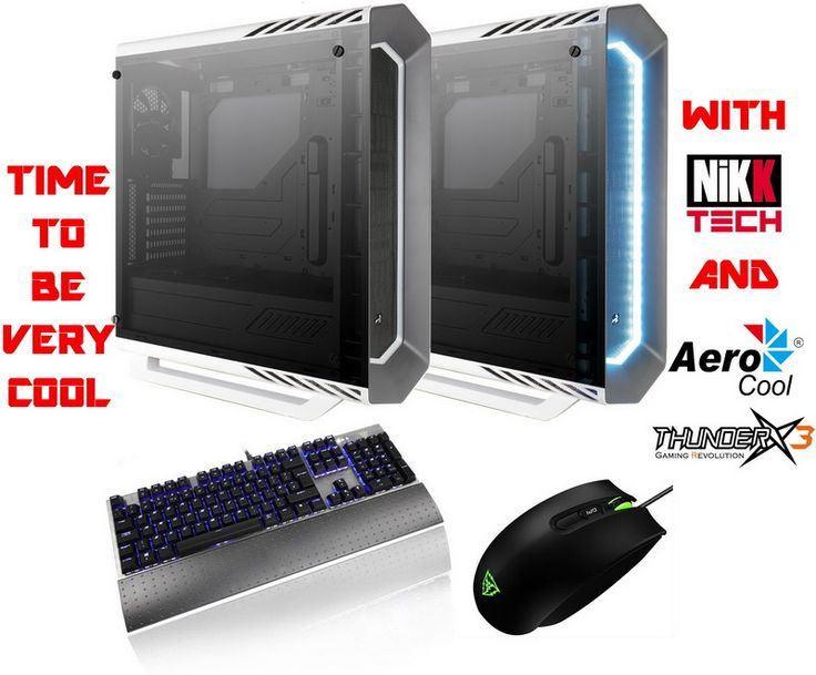 NikKTech & AeroCool / Thunder X3 Be Very Cool WorldWide Giveaway With Two P7-C1 Tempered Glass Towers, One TK50 Mechanical Keyboard and One TM30 Gaming Mouse