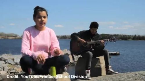 Remote First Nation's kids create haunting version of Cup Song