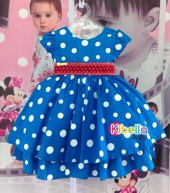 Vestido Infantil Galinha Pintadinha Com Pérola - Tam 1 / 3