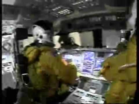 Rare footage from inside the crew cabin of space shuttle Columbia during its final moments. You can hear the crew talking with each other and at one point th...