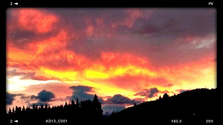 Sunrise at home. 15/8/2013