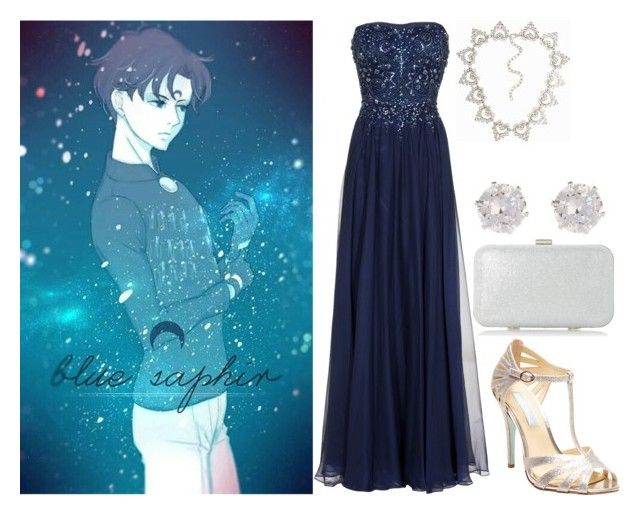 Pretty Soldier Sailor Moon R: Blue Saphir by becka-ramey on Polyvore featuring polyvore fashion style Barbara Schwarzer Betsey Johnson Roland Cartier River Island clothing