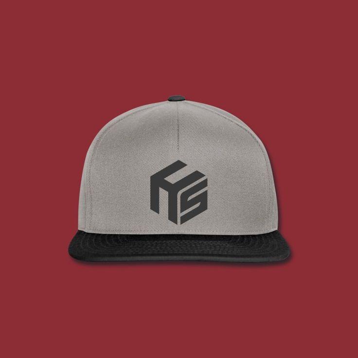 Logo Grey gray - Snapback Cap