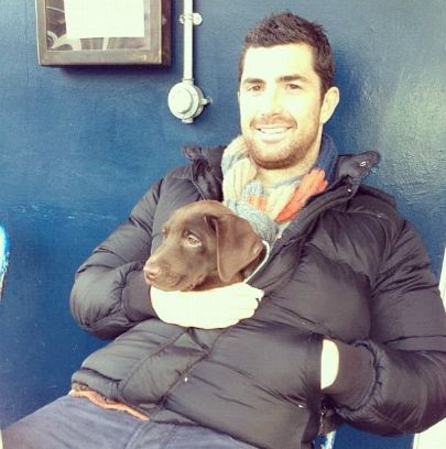 You play rugby have a beard and a puppy? I am so in love!!!