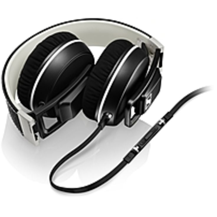 Sennheiser On Ear Headphones - Stereo - Black - Mini-phone - Wired - 18 Ohm - 16 Hz - 22 kHz - Over-the-head - Binaural - Supra-aural - 3.94 ft Cable - Omni-directional Microphone