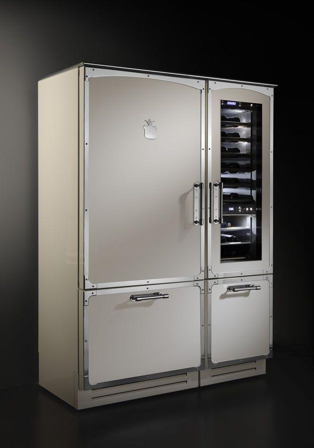 getränke kühlschrank edelstahl küchen design officine gullo
