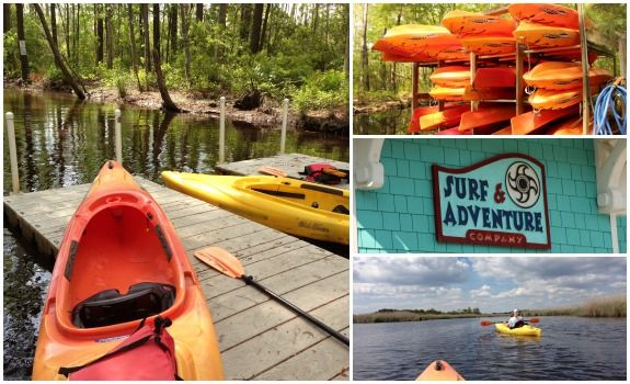 Kayaking In Virginia Beach at Back Bay | LiveDoGrow