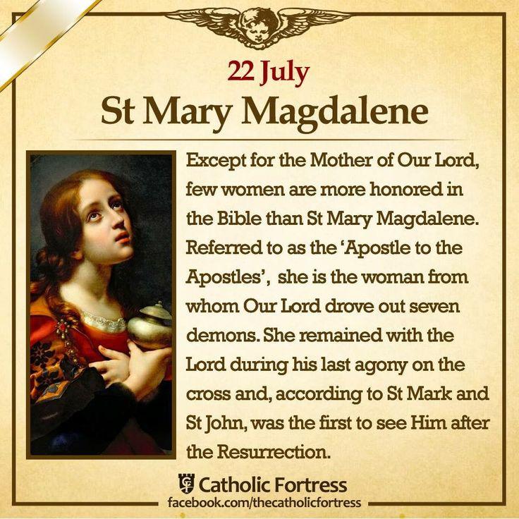 95 Best Catholic Saint Mary Of Magdalena Images On Pinterest Mary