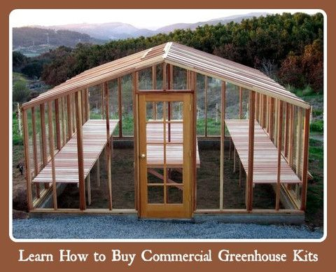 wooden greenhouse santa barbara redwood deluxe style x - Commercial Greenhouse Kits