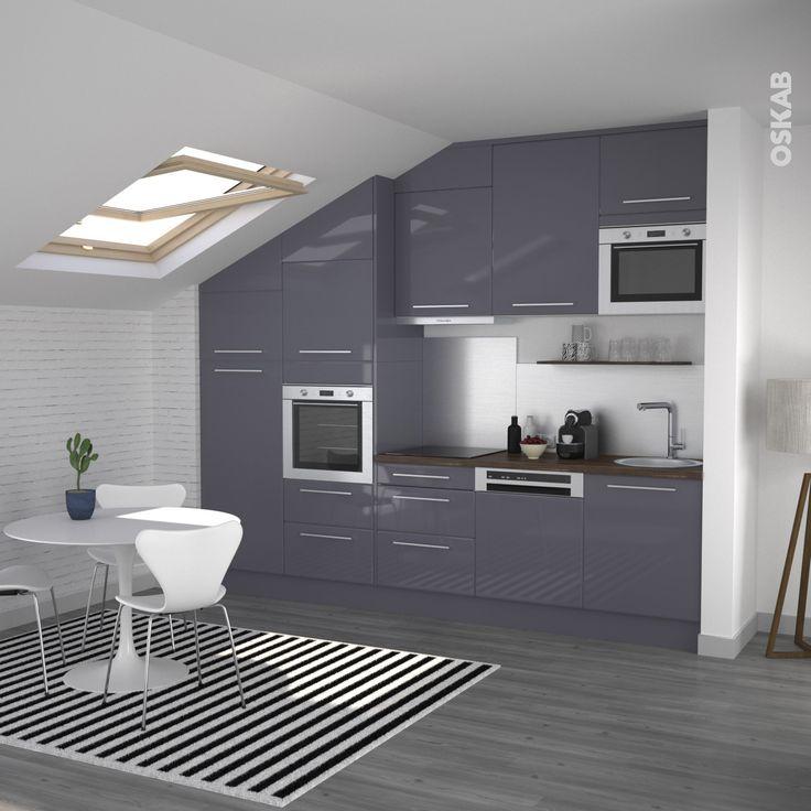 cuisine moderne grise latest superbe couleur cuisine moderne cuisine rouge et grise qui incarne. Black Bedroom Furniture Sets. Home Design Ideas