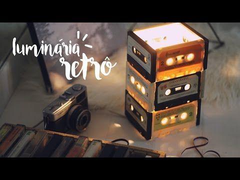 DIY Luminária de Fitas Vintage | Compra-se Um Fusca | Moda, decoração e lifestyle.