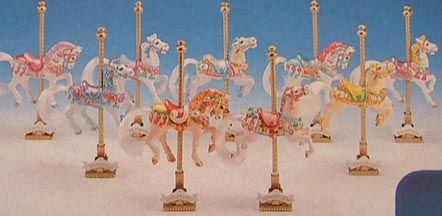 Carousel Horses by Matchbox, never got that bloody carousel, only the horses